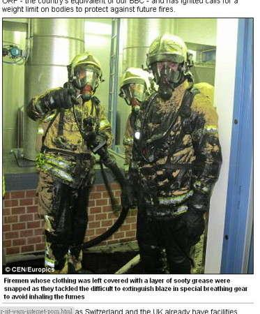地利一女子脂肪过多 火化时酿火灾烧坏焚化炉